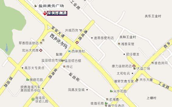 福永高速公路地图